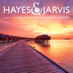 Save up to 40% on your next holiday with Hayes & Jarvis